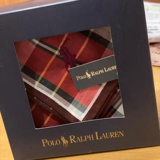 ポロラルフローレン(POLO RALPH LAUREN)のラルフローレン♡ハンカチ♡未開封美品!(ハンカチ/ポケットチーフ)