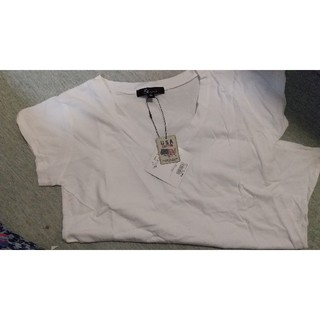 アンドバイピーアンドディー(&byP&D)の&byP&Dの綿100%の半袖T-shirt♥️インナーにも(Tシャツ/カットソー(半袖/袖なし))