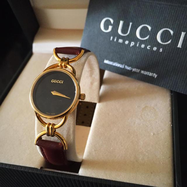 f941628ce333 Gucci - 美品⭐ 新品ベルト グッチビンテージ時計の通販 by 即日発送お ...