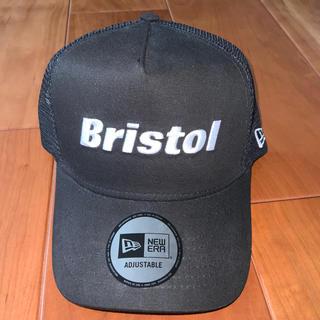 エフシーアールビー(F.C.R.B.)の『新品』BristolxNEW ERA キャップ 黒FREEサイズ(キャップ)