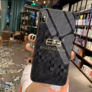 バレンシアガ(Balenciaga)のバレンシアガ iPhone ケース ブラックゴールド(iPhoneケース)