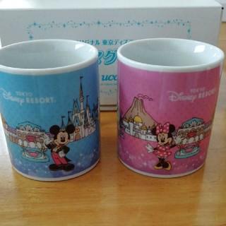 Disney - UCCオリジナル 東京ディズニーリゾート マグカップ ペアマグ シー ランド