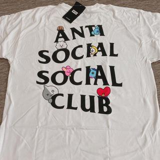 ボウダンショウネンダン(防弾少年団(BTS))のBT21 x antisocialsocialclub  tee(Tシャツ/カットソー(半袖/袖なし))