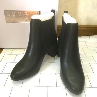 ローリーズファーム(LOWRYS FARM)の☆新品、未使用☆  ヒールサイドゴアブーツ(ブーツ)