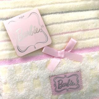 バービー(Barbie)のBarbie バービー タオルハンカチ ♡(ハンカチ)