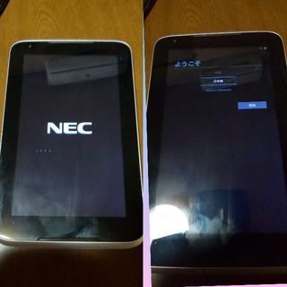 エヌイーシー(NEC)の値下げしました:NEC PC-TE307N1W ジャンク扱い(初期化済)(タブレット)