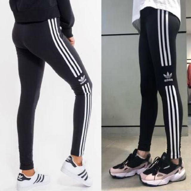 adidas(アディダス)の新作 新品 adidas originals アディダス レギンス ワークアウト レディースのレッグウェア(レギンス/スパッツ)の商品写真