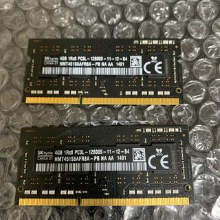 アップル(Apple)のMAC純正品 imac27 メモリー 8GB(PCパーツ)