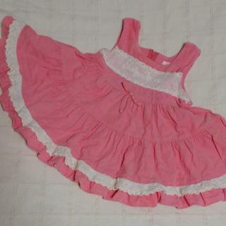 シャーリーテンプル(Shirley Temple)の80 シャーリーテンプル コーデュロイのジャンパースカート(ワンピース)
