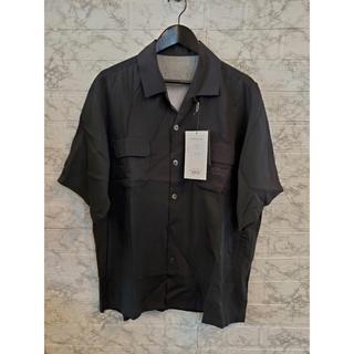 アンダーカバー(UNDERCOVER)のUNDERCOVER   テンセル開襟半袖シャツ Cindy print   L(シャツ)