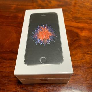 iPhone - iPhone SE Space Gray 64GB SIMフリー 新品未使用