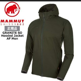 マムート GRANITE SO Hooded  asia Lサイズ