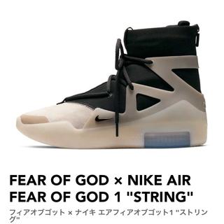 """ナイキ(NIKE)のフィアオブゴット × ナイキ エアフィアオブゴット1 """"ストリング""""(スニーカー)"""