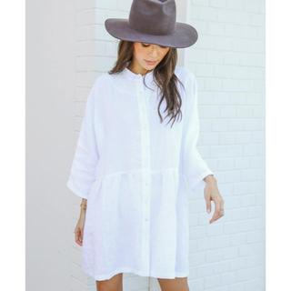 アリシアスタン(ALEXIA STAM)のアリシアスタン♡Stand Collar Shirt Dress(ロングワンピース/マキシワンピース)