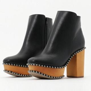 マウジー(moussy)のmoussy wood sole boots(ブーツ)