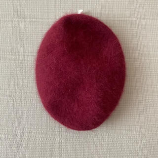 マウジー(moussy)のmoussy☆アンゴラベレー帽(ハンチング/ベレー帽)