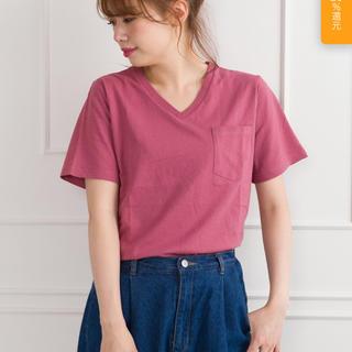 スプレイ(SpRay)のポケ付Vネック Tシャツ(Tシャツ(半袖/袖なし))