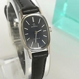 オメガ(OMEGA)の⭐OH済 綺麗 オメガ K18WGGP 尾錠 新品ベルト レディース腕時計 美品(腕時計)