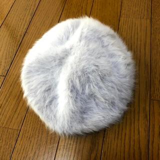 ウィゴー(WEGO)のグレーファーベレー帽(ハンチング/ベレー帽)
