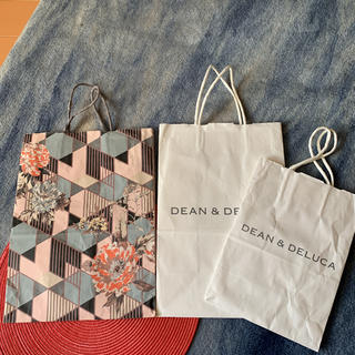 ディーンアンドデルーカ(DEAN & DELUCA)のショッパー 3枚 DEAN&DELUCA  Francfranc(ショップ袋)