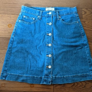 ギャップ(GAP)のGap 膝丈デニムスカート(ひざ丈スカート)