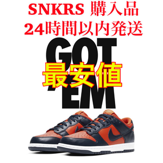 ナイキ(NIKE)のNIKE DUNK LOW SP Champ Colors 28cm(スニーカー)