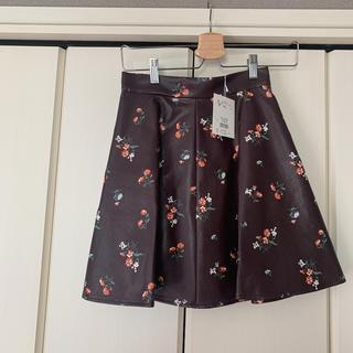 マーキュリーデュオ(MERCURYDUO)のフェイクレザースカート(ミニスカート)