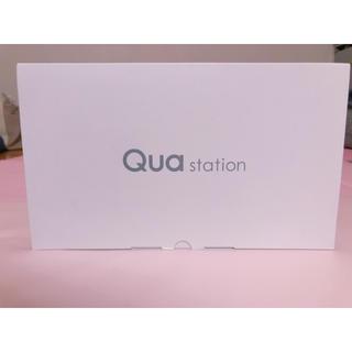 エーユー(au)の新品・未使用★au Qua station(PC周辺機器)