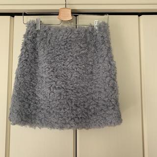 マーキュリーデュオ(MERCURYDUO)のフェイクファースカート(ミニスカート)