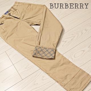 バーバリー(BURBERRY)のBURBERRY バーバリー ブルーレーベル レディース チノパン サイズ38(チノパン)