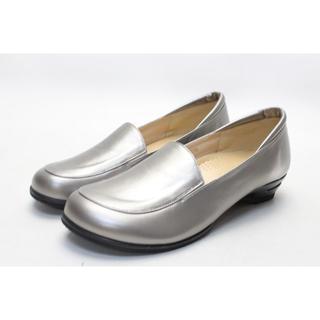 新品♪モードトキミ エアソールローファーパンプス(25.5cm4E)/08(ローファー/革靴)