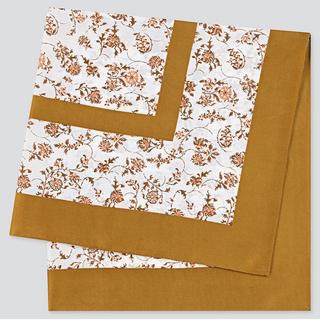 ユニクロ(UNIQLO)の新品タグ付き ユニクロ プリントスカーフ(フローラ)(バンダナ/スカーフ)