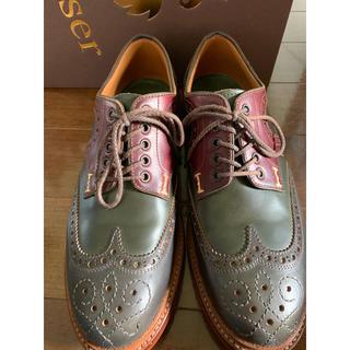 ショセ(chausser)のchausser メンズシューズ27cm(未使用)(ローファー/革靴)