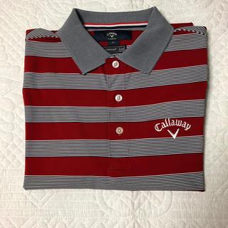 キャロウェイゴルフ(Callaway Golf)のキャロウェイス(ストライプ)ポロシャツ(ウエア)
