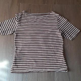 フェリシモ(FELISSIMO)のフェリシモ ボーダー Tシャツ(Tシャツ(半袖/袖なし))