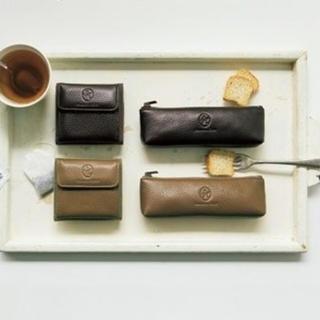 サマンサモスモス(SM2)のsm2 新品未開封ノベルティーお財布ペンケースセットdark brown(ノベルティグッズ)