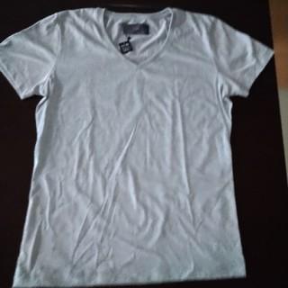 ダブルジェーケー(wjk)のwjk  VネックTシャツ グレー L(Tシャツ/カットソー(半袖/袖なし))
