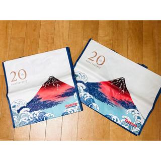 コストコ(コストコ)のコストコ エコバッグ 赤富士 大小セット(エコバッグ)