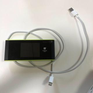 エーユー(au)のSpeed Wi-Fi NEXT W05 W05クレードル付き(PC周辺機器)