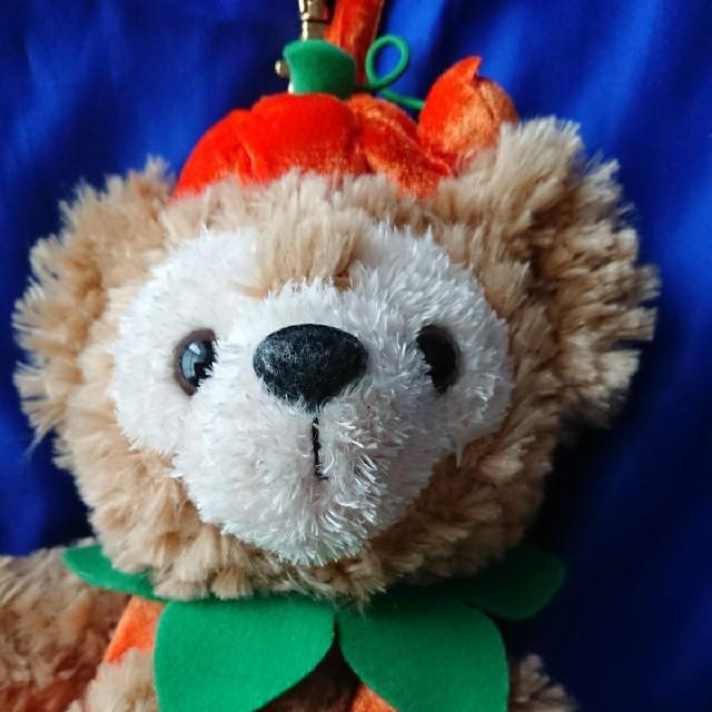 ダッフィー(ダッフィー)の東京ディズニーシー 25周年 ハロウィーン ハロウィン ダッフィー ポーチ エンタメ/ホビーのおもちゃ/ぬいぐるみ(キャラクターグッズ)の商品写真