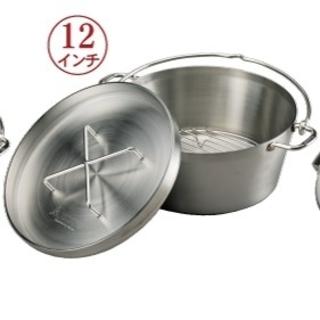 シンフジパートナー(新富士バーナー)の新品 SOTO ステンレスダッチオーブン12インチST-912(調理器具)