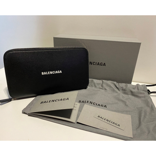 バレンシアガ(Balenciaga)の新品未使用品 BALENCIAGA ラウンドウォレット長財布(長財布)