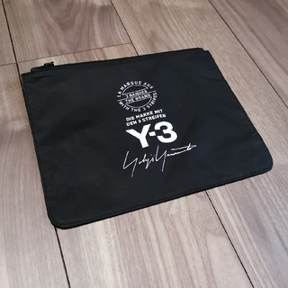 ワイスリー(Y-3)の【非売品!激レア!】Y3 Y-3 15周年ノベルティポーチ(セカンドバッグ/クラッチバッグ)