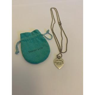 ティファニー(Tiffany & Co.)のティファニー リターントゥ  ネックレス B10(ネックレス)