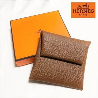 Hermes - 送料無料 新品同様 エルメス バスティア コインケース 小銭入れ レザー