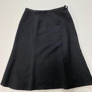 ドゥファミリー(DO!FAMILY)のドゥファミリー ブラックドットスカート (ひざ丈スカート)