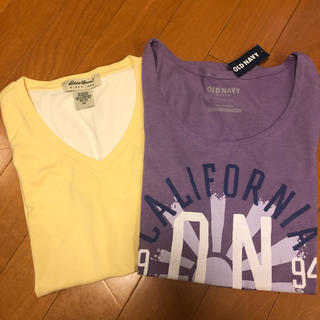 オールドネイビー(Old Navy)のTシャツ 2枚セット(Tシャツ(半袖/袖なし))