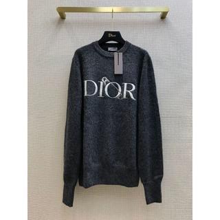Dior - DIOR ディオール  安全ピン ロゴ クルーネックセーター