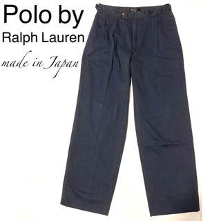 ポロラルフローレン(POLO RALPH LAUREN)の◎日本製アジャスター付き◎Polo by Ralph Lauren チノパン(チノパン)