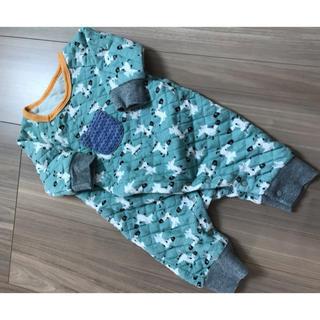 シマムラ(しまむら)の北欧風 きつね 長袖カバーオール 60〜70(カバーオール)